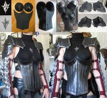Final Fantasy Lightning Returns Chest Armor by AlysonTabbitha