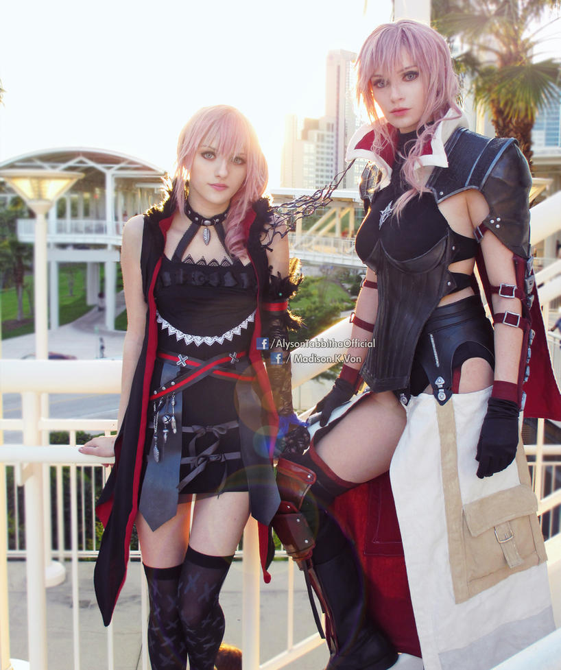 Connu Final Fantasy Lightning Returns and Lumina Cosplay by  NT32