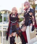 Final Fantasy Lightning Returns and Lumina Cosplay