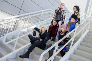 Final Fantasy Lightning Returns Group Cosplay by AlysonTabbitha
