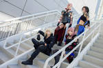 Final Fantasy Lightning Returns Group Cosplay