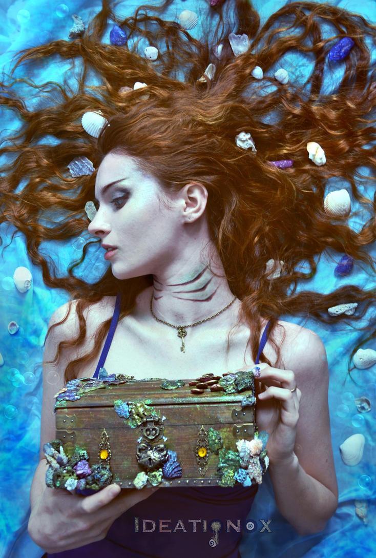 Mermaid Treasure Chest by AlysonTabbitha