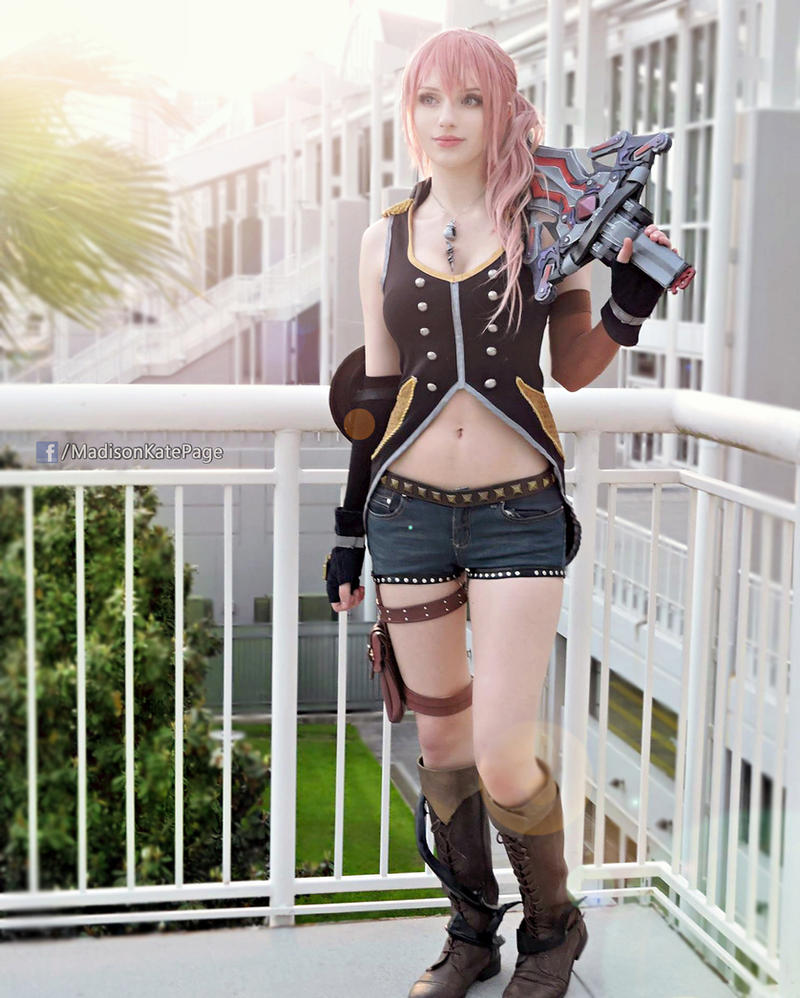 style and steel serah cosplay ff13 2 by alysontabbitha on deviantart. Black Bedroom Furniture Sets. Home Design Ideas