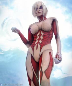 Female Titan Cosplay