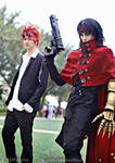 Vincent Valentine and Reno FFAC cosplay