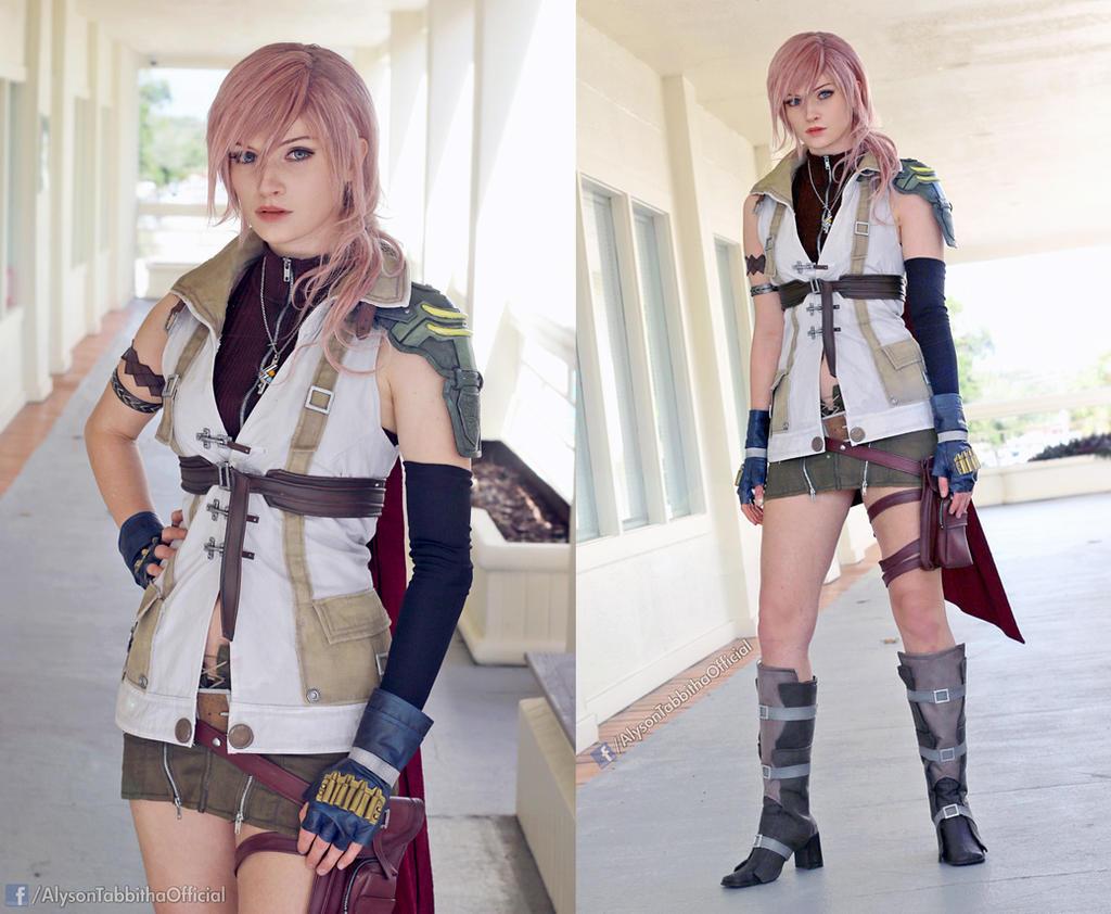 Lightning Final Fantasy XIII Cosplay by AlysonTabbitha on
