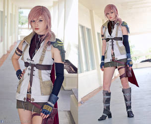 Lightning Final Fantasy XIII Cosplay by AlysonTabbitha