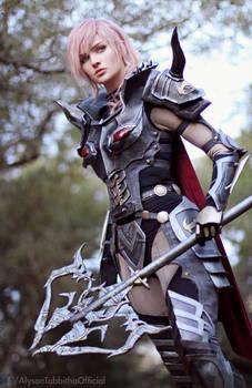 Lightning Dark Knight FF13 Cosplay