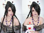 Final Fantasy 10 Lulu Cosplay makeup test