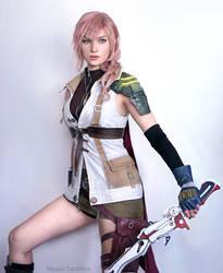 Lightning FF13 Cosplay by: Alyson Tabbitha