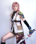 Lightning FF13 Cosplay by: Alyson Tabbitha