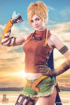 Rikku Final Fantasy X Cosplay!