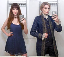 Lestat Cosplay Before and After