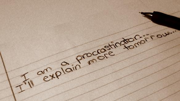 Procrastination. by Insanityisthefuture