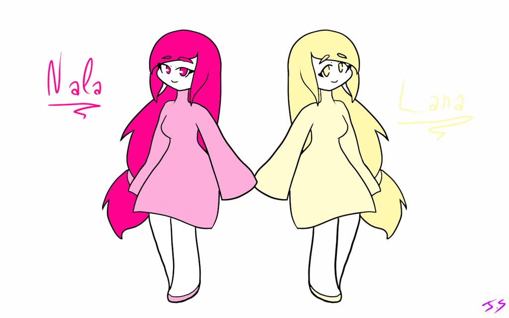 Nala and Lana refs by Susuna56