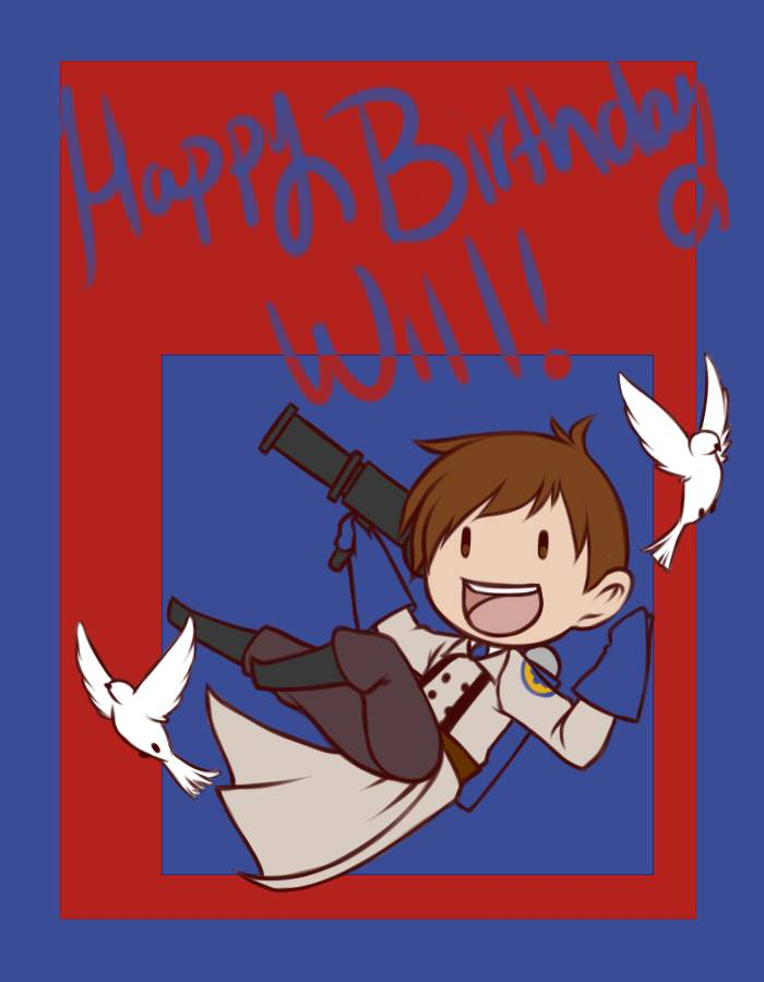 Happy birthday will by gabrielraven on deviantart happy birthday will by gabrielraven sciox Image collections