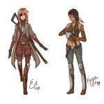 Eve and Kaiya