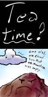 Mountain Plus Cloud by Healer-Guy