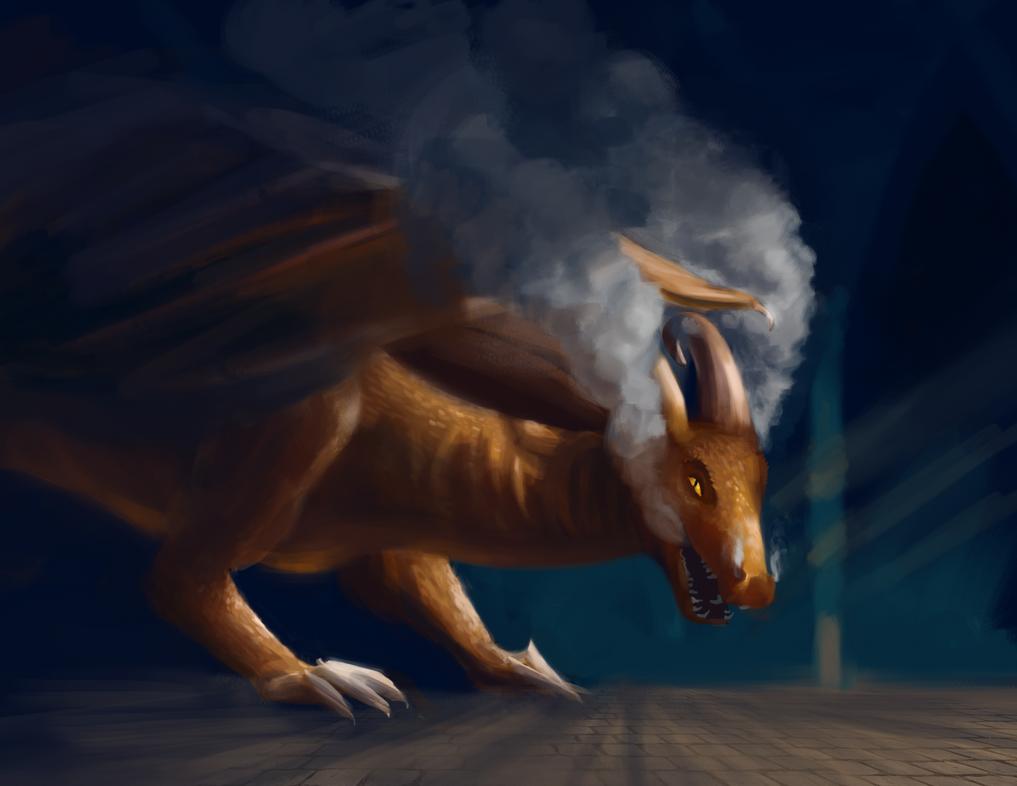 The dragon smoke by Healer-Guy