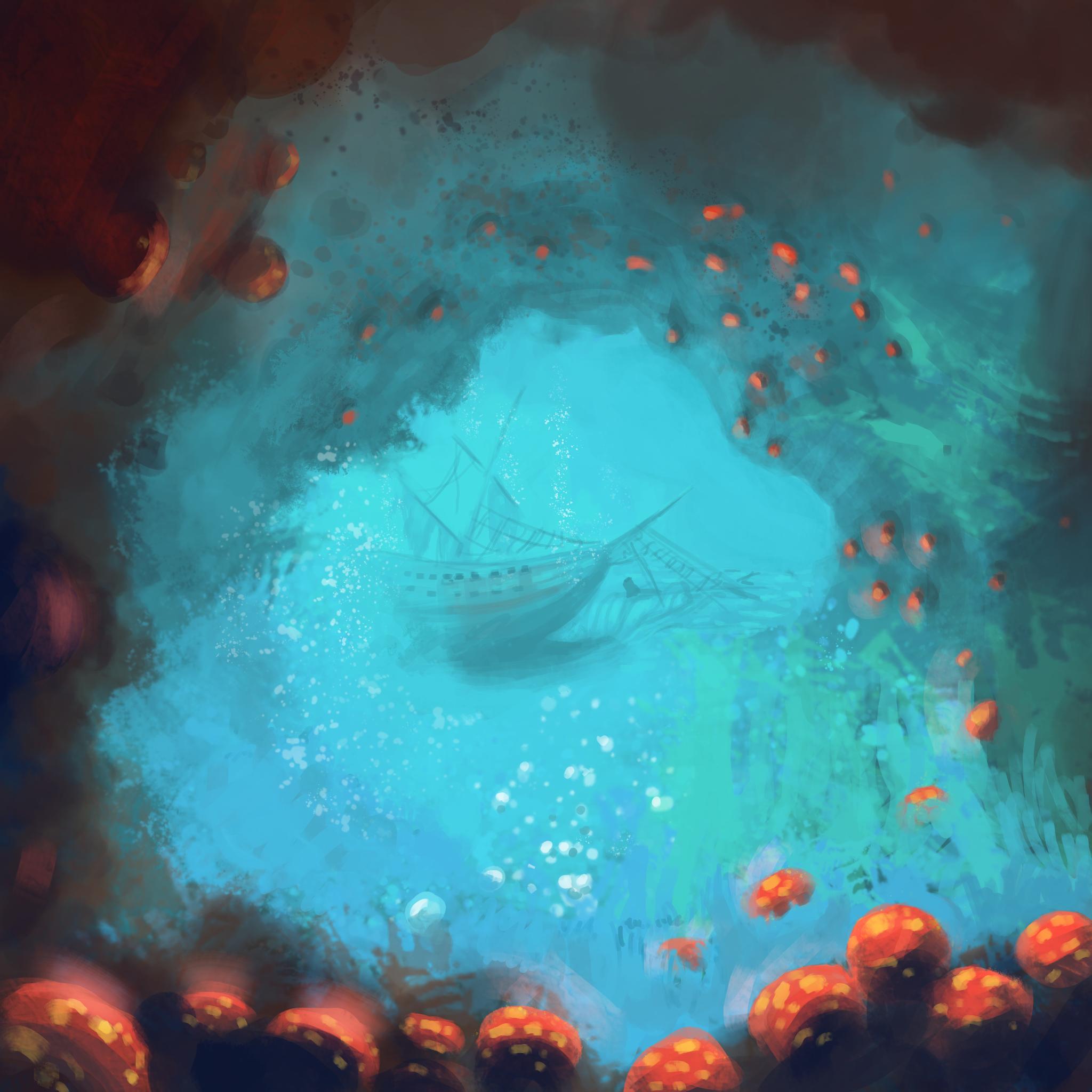 Ocean Cavern by Healer-Guy