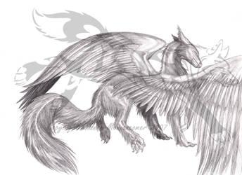 Furry Dragon by Jianre-M