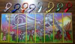 FF7 Bookmark Lineup - P by Jianre-M