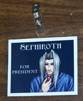 Sephiroth For President by Jianre-M