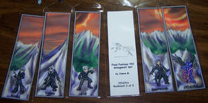 FF7 Bookmark Set - A by Jianre-M