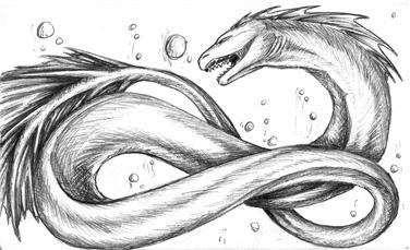 Random Sea Serpent by Jianre-M