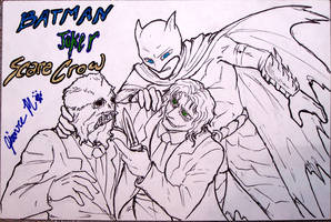 Batman+ Commission - AD 2008 by Jianre-M