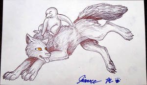 Penguin and Wolf  - MAAX 2008 by Jianre-M