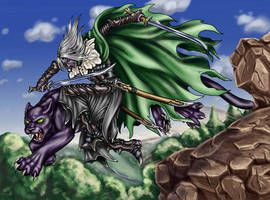 Drizzt and Guen - Commission by Jianre-M