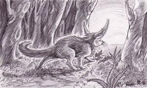 Random Sunrise Forest Critter by Jianre-M