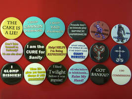 Quote-y Button Goodness by Jianre-M