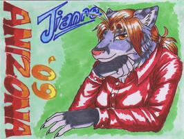 Jianre Anizona 09 - Badge by Jianre-M