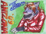 Jianre Anizona 09 - Badge