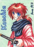 Playing Card - Kenshin by Jianre-M