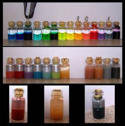 Lil' Potion Bottles