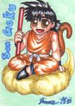 Playing Card - Son Goku