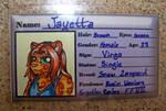 Personalized ID - Jayetta