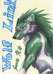Playing Card - Wolf Link