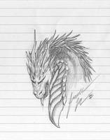 Dragon Sketch From Califur by Jianre-M