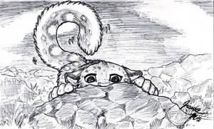Random Snow Leopard by Jianre-M