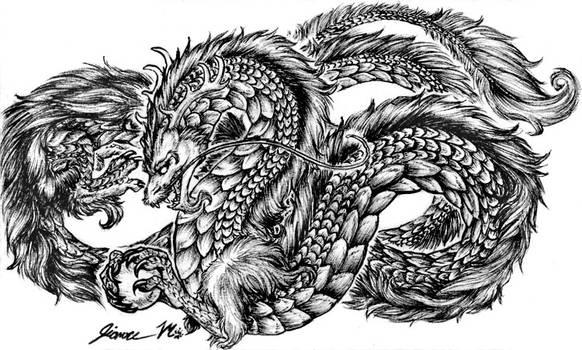 Random Chinese Dragon by Jianre-M