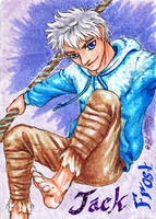Jack Frost - Playing Card by Jianre-M