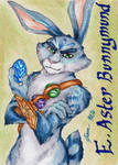 Bunnymund - Playing Card