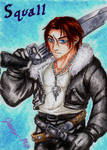 Squall - Playing Card