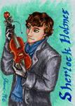 Sherlock Holmes - Playing Card