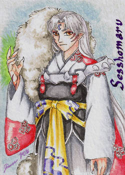 Sesshomaru - Playing Card