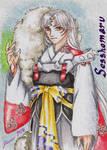 Sesshomaru - Playing Card